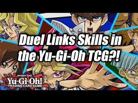 Yu-Gi-Oh! Duel Links Skills in the Yu-Gi-Oh! TCG?!