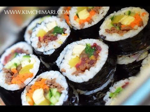 Gimbap - Korean Seaweed Rice Roll