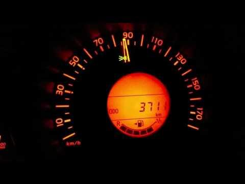 Der Aufwand des Benzins bei 325