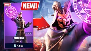 New Delirium Halloween Skin! (Fortnite Battle Royale)
