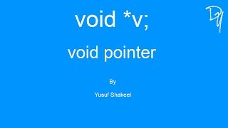 07 C | How to convert void pointer into char int float double