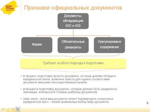 Юридическая сила и юридическая значимость документов