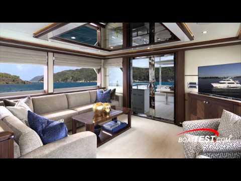 Ocean Alexander 85 Motoryacht Review 2015- By BoatTest.com