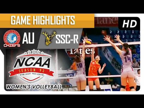 AU vs SSC-R | Finals Game Highlights | NCAA 92 WV | February 11, 2017