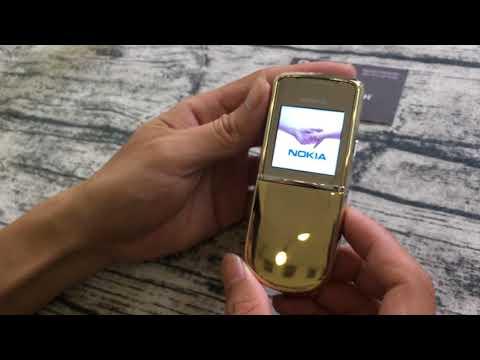 T9 2017 Nokia 8800 Sirocco Gold trên tay thử nghiệm