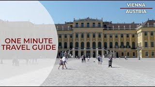 asianTraveler's One Minute Travel Guide to Vienna