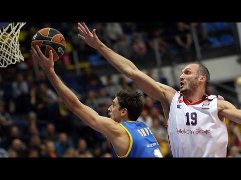 Highlights: RS Round 3, Khimki Moscow Region 91-53 Crvena Zvezda Telekom Belgrade