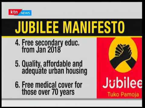 A sneak peek into the Jubilee manifesto