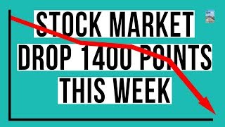 Stock Market TANKS 1400 Points This Week! WORST Weekly Decline In Years!