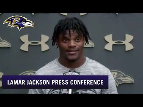 Lamar Jackson Grades His First Week of OTAs | Baltimore Ravens
