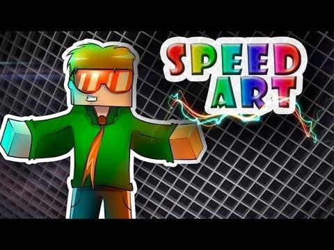 SpeedART for Paulscriptum[Minecraft] #108