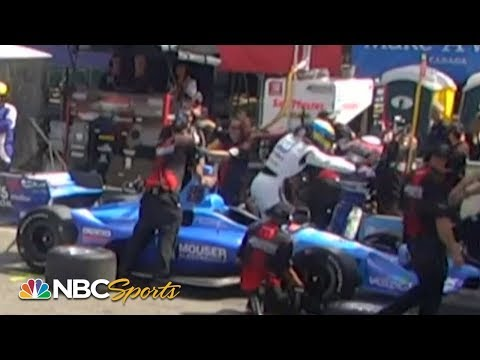 Image: WATCH: IndyCar drivers fight in pitlane!