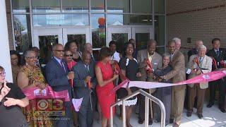 City Unveils 1st 21st Century Baltimore City Public School