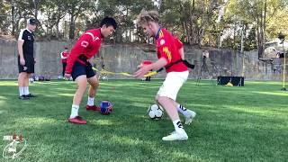 Compilation of the best TRAINING DRILLS with Sheldon Tweedie | Joner 1on1 Football Training