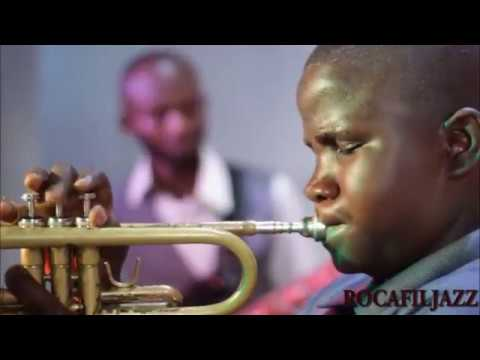 Sweet mother live with Prince Nico Mbarga's children