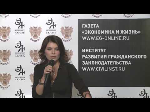 Анна Дунаева. Беседа о договоре строительного подряда