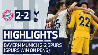 HIGHLIGHTS   BAYERN MUNICH 2-2 SPURS (SPURS WIN 6-5 ON PENALTIES)   AUDI CUP 2019