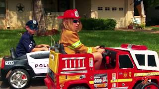 Little Heroes - The Hero Swap with The Spark, The Fire Engine and The Fire Fighter