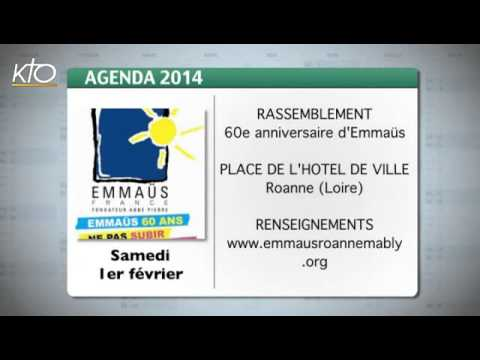 Agenda du 24 janvier 2014