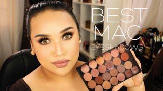 Best MAC Eyeshadows (Neutrals & Everyday) W/ Swatches