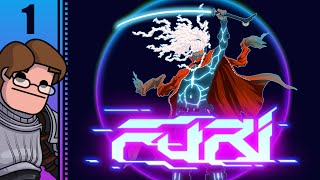 Let's Play Furi Part 1 - First Boss Fight: The Chain