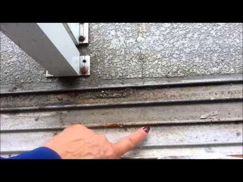Πως να καθαρίσετε τις ράγες σε συρόμενες μπαλκονόπορτες