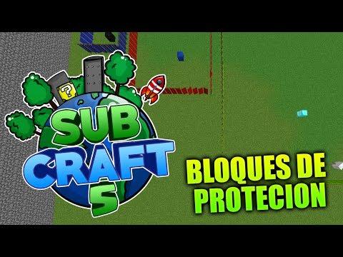 TUTORIAL - Como usar los BLOQUES de PROTECCIÓN   Subcraft 5