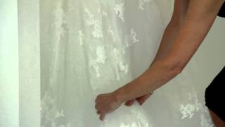 How To Bustle A Mermaid Dress : Bridal Dresses & More