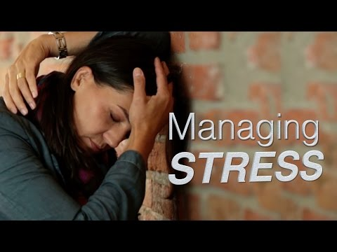 Managing stress - mental health in the workplace