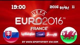 Wales Vs Slovakia Euro 2016