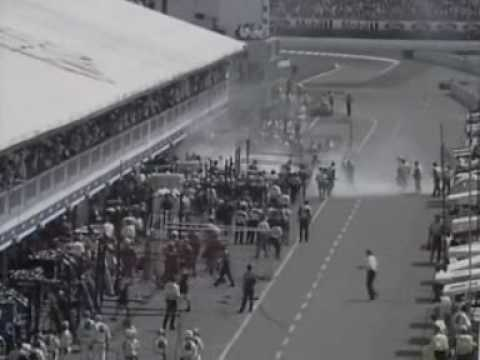 Image: Watch: Jos Verstappen's scary fire during 1994 German Grand Prix