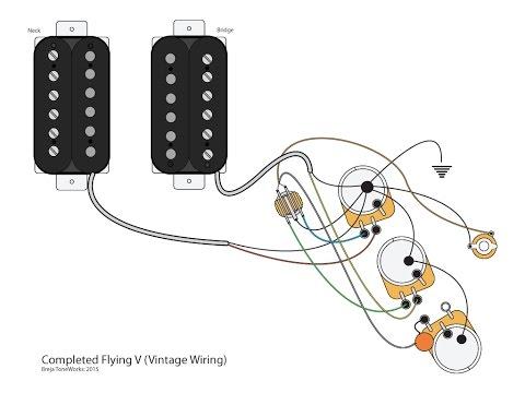 Gibson Flying V Wiring Diagram - Merzie.net