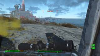 Fallout 4 - Mirelurk Queen Near Coastal Cottage