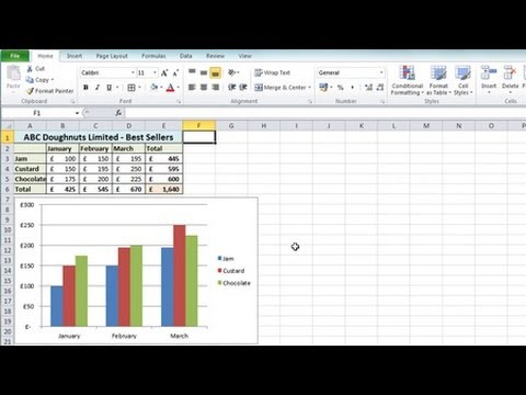 Excel 2010 Tutorial For Beginners #1 – Overview (Microsoft Excel)