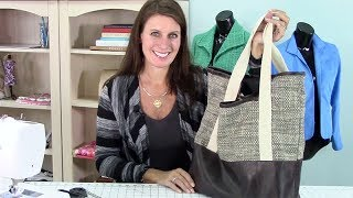 Video Sew-A-Long: Canvas Tote Bag: Part 1: Supplies