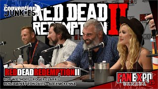 Red Dead Redemption 2 - Voice Cast Panel Fan Expo Canada 2019
