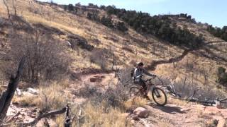 A fun day trying out most of the trails at Oil Well Flats