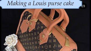 How To Make A Louis Vuitton Cake Purse