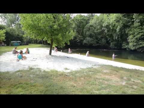 Vidéo Camping  Brantome Peyrelevade