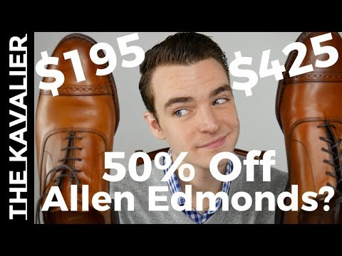Are Allen Edmonds Factory Seconds Worth 50% off?