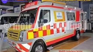 Get Ventilator Ambulance in Bokaro and Dhanbad with Medical Team - Medilift
