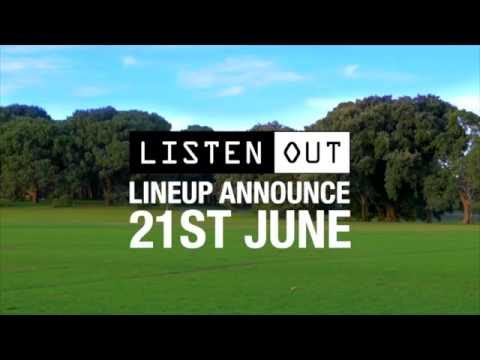 Listen Out 2016 Lineup Coming