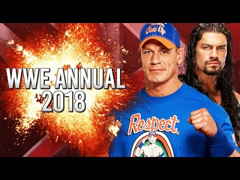 WWE ANNUAL 2018 Create Superstar Competition!