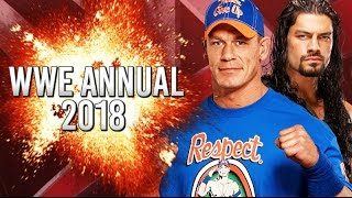 How would YOU like to be featured in the 2018 WWE Annual