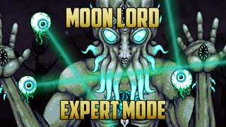Terraria - Moon Lord Boss Expert Mode Guide with Melee