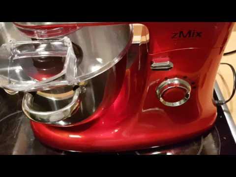 Retro Küchenmaschine zMixPLUS 1800 Watt mit Fleischwolf