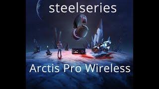 SteelSeries Arctis Pro Wireless Распаковка Unboxing. Первый взгляд
