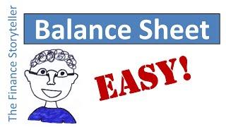 BALANCE SHEET explained
