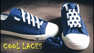 LACE SHOES - 5 cool ideas how to tie shoe laces