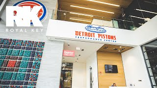We Toured The DETROIT PISTONS' $90 MILLION, FOUR-STORY Henry Ford Facility | Royal Key | Coiski